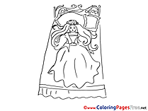 Baby Colouring Sheet download free