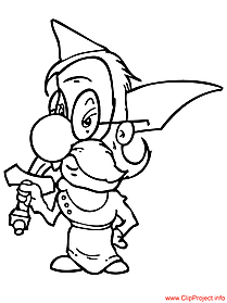 Warrior coloring sheet free