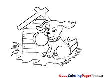 Dog Coloring Pages for free