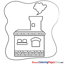 Stove Kids download Coloring Pages
