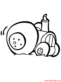 Tractor image to color for free