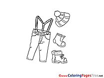 Fashion Coloring Pages for free