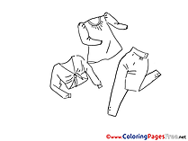 Fashion download printable Coloring Pages