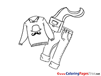 Jersey printable Coloring Pages for free
