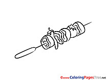 Kebab Kids download Coloring Pages