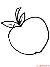 Apple coloring free