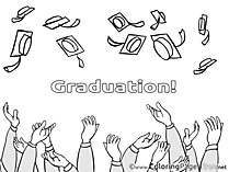 Baccalaureate Colouring Sheet download Graduation