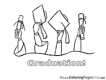 Baccalaureate download Graduation Coloring Pages
