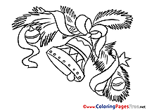Bell Kids New Year Coloring Pages