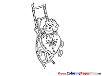 Beetle download printable Coloring Pages