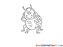 Ladybug Coloring Pages for free