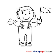 Flag Coloring Sheets download free