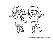 Coloring Pages for free Kids