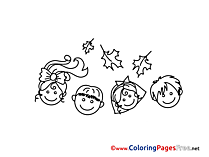 Download Kids Colouring Sheet free