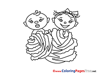 Printable Kids Coloring Pages for free