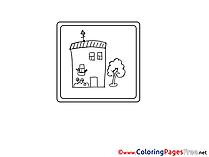 School for free Coloring Pages download