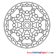 Image Mandala Coloring Pages download