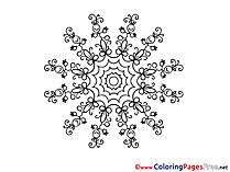 Kids Mandala Coloring Pages