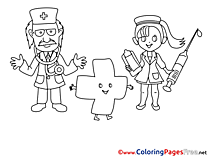Medicine Coloring Pages for free