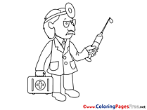 Medicine printable Coloring Sheets download