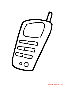 phone coloring pages  Coloring Pages For Kids and All Ages