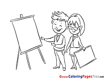 Office printable Coloring Pages for free
