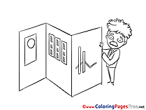 Presentation Colouring Page printable free Graph