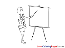 Seminar Coloring Pages for free Office