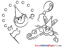 Party coloring pages