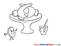 Vase printable Coloring Pages for free