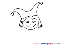Clown Coloring Sheets download free