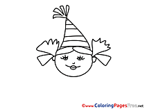 Party Children Coloring Pages free