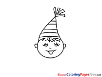 Party Kids download Coloring Pages
