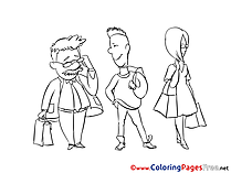 Queue download printable Coloring Pages