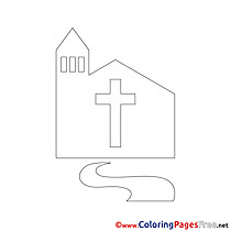 Church Confirmation free Coloring Pages