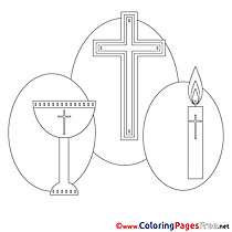 Cross Confirmation free Coloring Pages