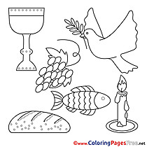 Objects Confirmation Coloring Pages free