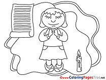 Priest Coloring Pages Confirmation
