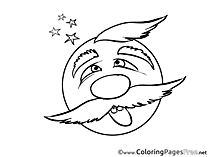 Smilies coloring pages