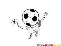 Download Fan Albania Soccer Coloring Pages