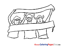 National Team Coloring Sheets Soccer free
