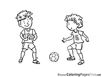 Rivals Boys Soccer free Coloring Pages