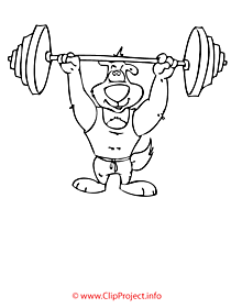 Athletics image for coloring