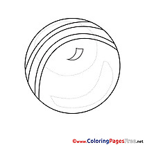 Ball Children Coloring Pages free