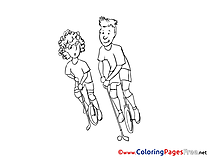 Children download Polo Colouring Page