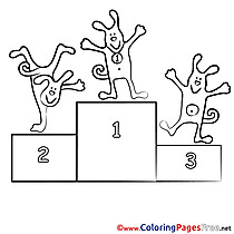 Competition download printable Coloring Pages