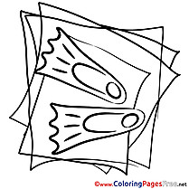 Flippers free printable Coloring Sheets