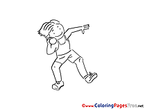 Juggler printable Coloring Pages for free