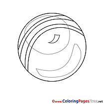 Kids Ball download Coloring Pages
