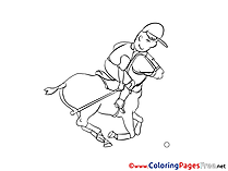 Polo Children Coloring Pages free